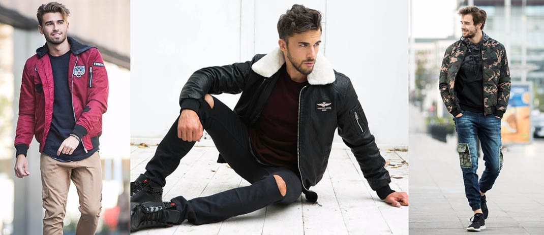 Men's 2018 Fashion - Bomber